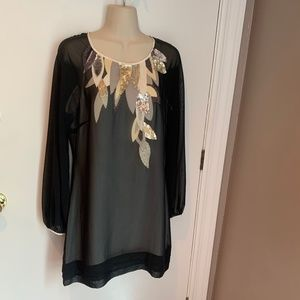 Ted Baker cocktail dress with beading
